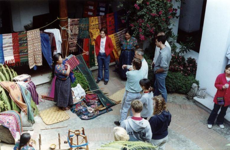 Traditional clothing exposition