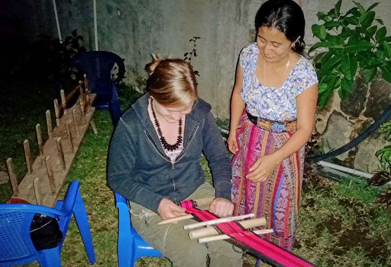 Weaving lessons