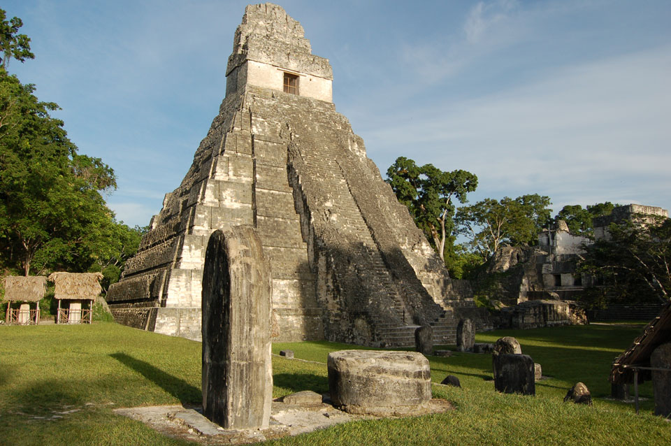 Tikal - an ancient city restored with much archaeologist