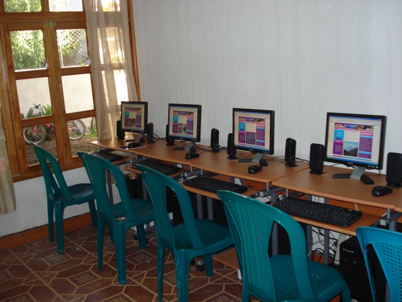 A professional internet room