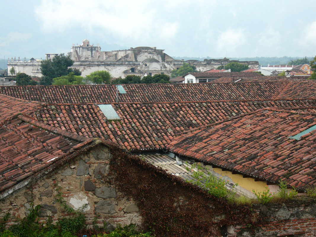 Antigua is a one-storey-city