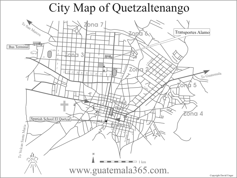 El Quetzal location map