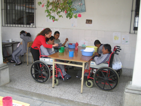 Social projects in a local hospital