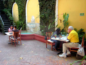 Learning Spanish in a colonial setting