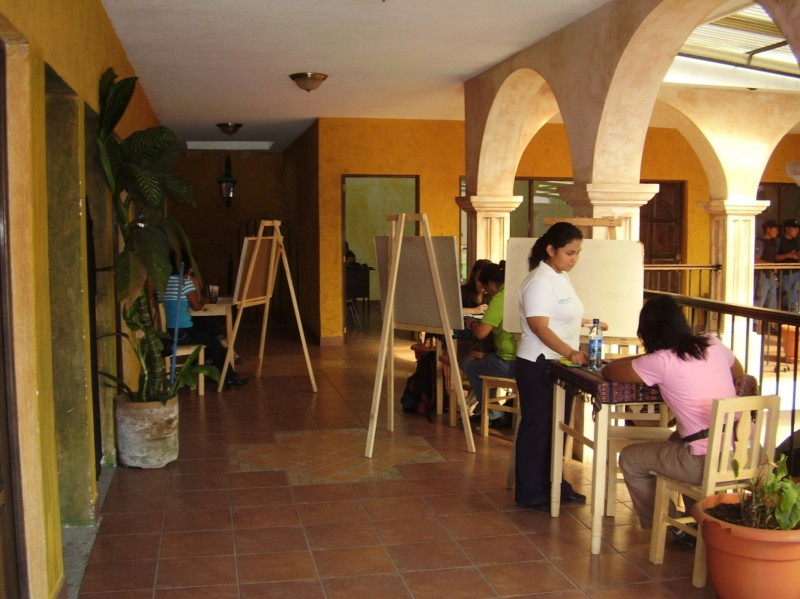 Spanish clases in Antigua.