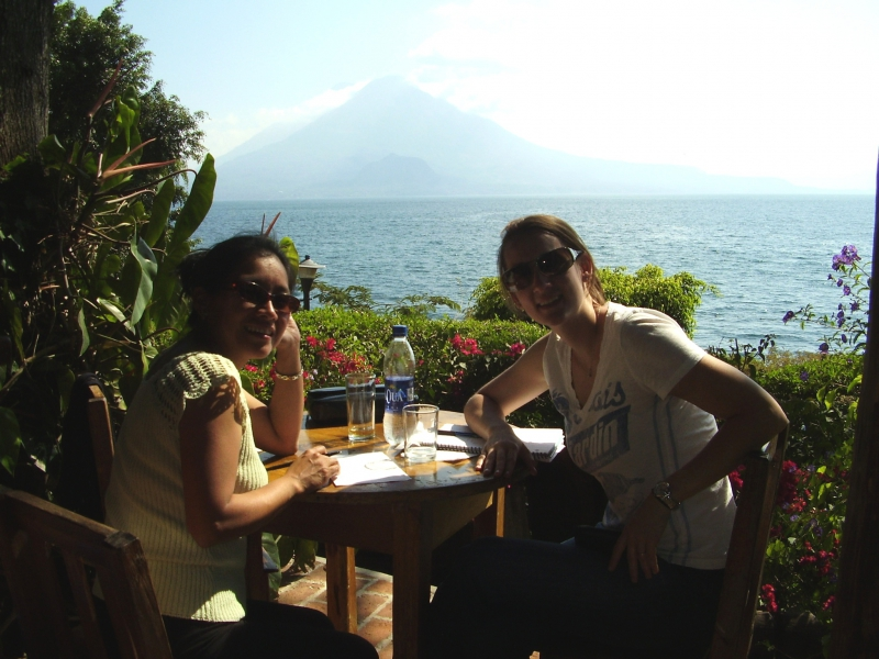 Spanish lessons in Lake Atitlan.
