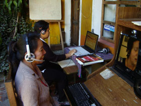 "The Spanish School ""Spanish Traveling"" probably offers the best online tuition in Guatemala"